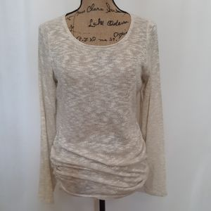 Motherhood glittery top, rouched sides. L. BOGO